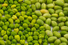 Green Chickpeas Royalty Free Stock Photos