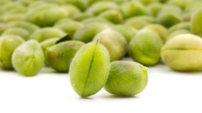 Green Chickpeas Stock Images