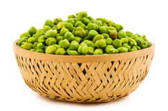 Green Chickpeas Stock Photo