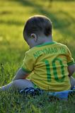 Green, Child, Grass, Nature royalty free stock image