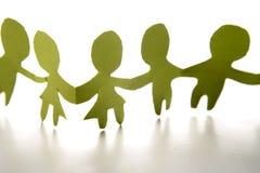 Green Children Chain Royalty Free Stock Photo