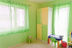 Green children room Stock Photo