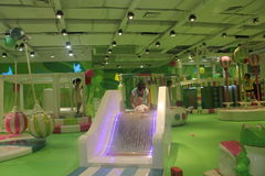 The green Children's amusement park in shenzhen,china,Asia Royalty Free Stock Images