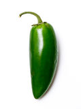 Green chile pepper stock images
