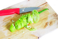 Green chili Stock Photo