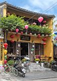 The Green Chili, a Mexican restaurant in Hoi An, Vietnam. Pictured is the Green Chili Restaurant and Bar, featuring Mexican food in Hoi An, Vietnam.  Founded by stock images