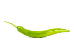 Green chilli Royalty Free Stock Photography