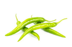 Green chilli Royalty Free Stock Images