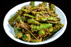 Free Green Chilli Pickle Royalty Free Stock Photos - 70379808