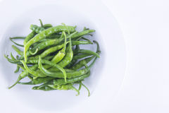 Green chilli Royalty Free Stock Photo