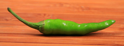 Green chilly Stock Photography