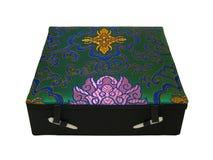 Green china box Royalty Free Stock Photo
