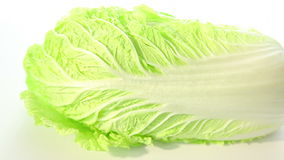 Green chinese cabbage stock footage