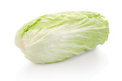 Green chinese long cabbage Royalty Free Stock Image