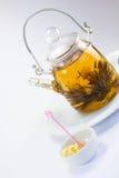 Green Chinese Tea (Ball) Royalty Free Stock Photo