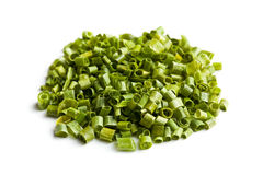 Green chives Royalty Free Stock Image