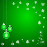 Green Christmas Royalty Free Stock Images
