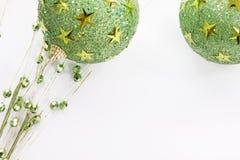 Green Christmas Stock Photography