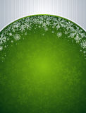Green christmas background,  Stock Photography