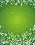Green christmas background,. Illustration Stock Image