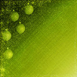 Green christmas background. Green  christmas background of balls and sparkles Stock Images