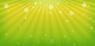 Green Christmas background. Holiday green Christmas background card Stock Images