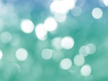 Green christmas background. With bokeh lights Royalty Free Stock Image