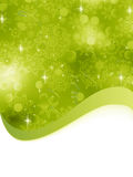 Green Christmas Background. EPS 8 Royalty Free Stock Photo