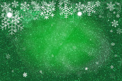 Green Christmas background. Illustration format. Holiday concept.  stock image