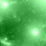 Green christmas background Stock Photos