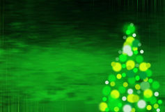 Green  christmas background with vertical stripes Stock Image