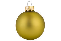 Green Christmas ball Royalty Free Stock Photography
