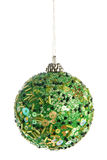 Green Christmas Ball Royalty Free Stock Photography