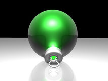 Green Christmas Ball Royalty Free Stock Photo