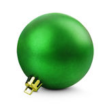 Green christmas ball Royalty Free Stock Photos