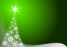 Green christmas decoration Royalty Free Stock Photo