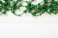 Green Christmas decoration Royalty Free Stock Photos