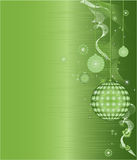 Green Christmas Frame Pattern Vector Illustration Royalty Free Stock Photography