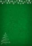 Green Christmas pattern background Royalty Free Stock Photos