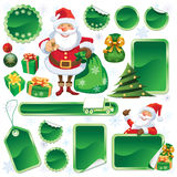 Green Christmas sale Stock Images