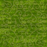 Green Christmas Scrolls background. Green and gold textured Christmas Scrolls background Stock Photos