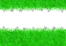 Green christmas tinsel texture background Royalty Free Stock Photo