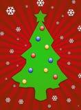 Green christmas tree Royalty Free Stock Photo