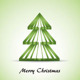 Green Christmas tree Royalty Free Stock Image