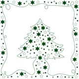 Green Christmas Tree Royalty Free Stock Photos
