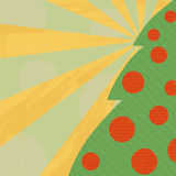 Green christmas tree Stock Image