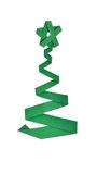 Christmas tree. Green Christmas tree made from paper Royalty Free Stock Image