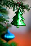 Green Christmas tree ornament Stock Photography