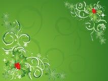 Green Christmas Vector Stock Photos