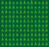 Green Christmas wrapping Stock Images